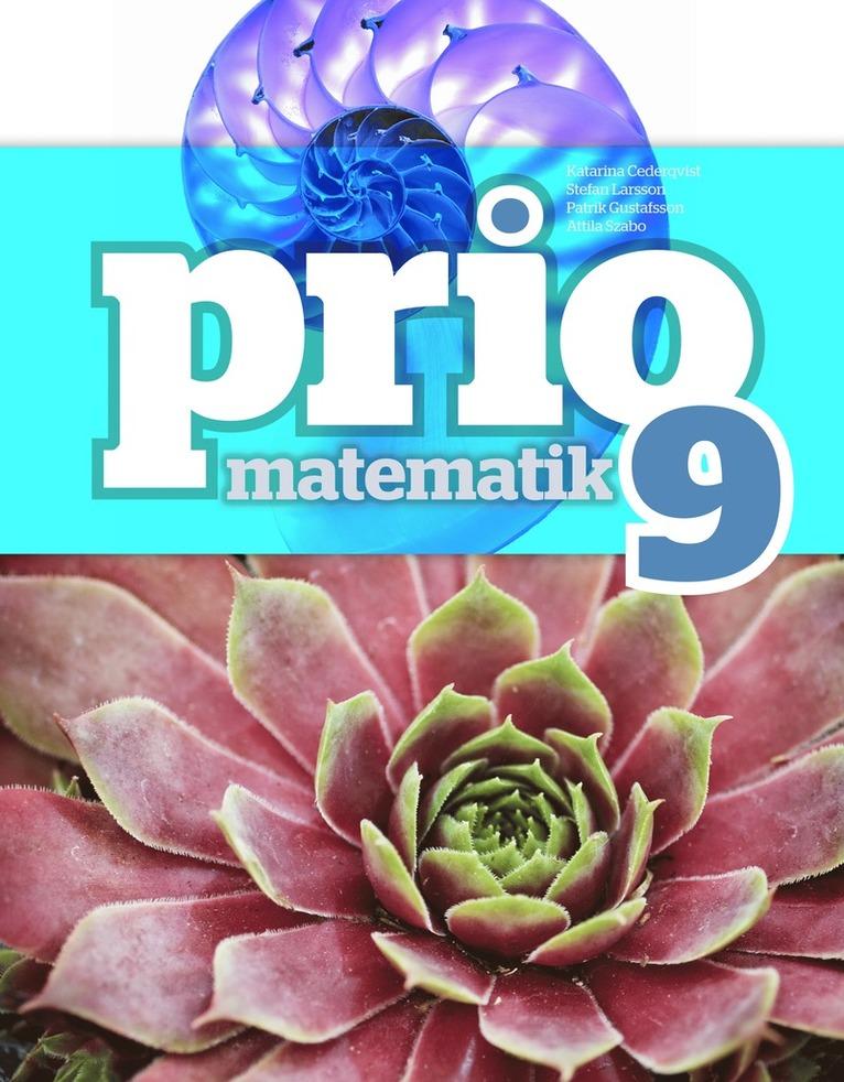Prio Matematik 9 Grundbok 1