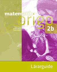 bokomslag Matematik Origo 2b Lärarguide