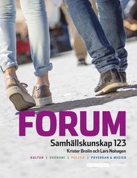 bokomslag Forum Samhällskunskap 123 Ny upplaga