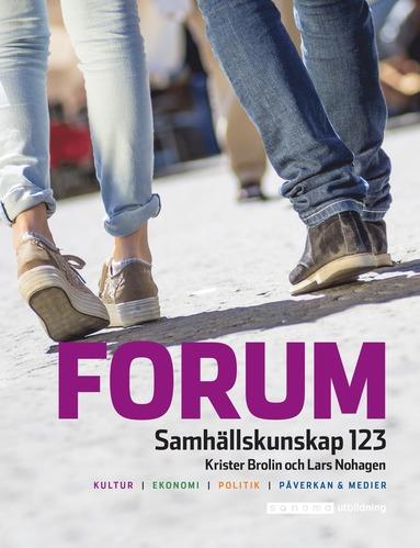 bokomslag Forum Samhällskunskap 123