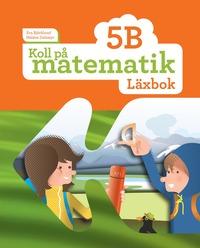 bokomslag Koll på matematik 5B Läxbok