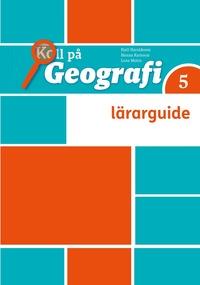 bokomslag Koll på Geografi 5 Lärarhandledning