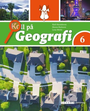 bokomslag Koll på Geografi 6 Grundbok