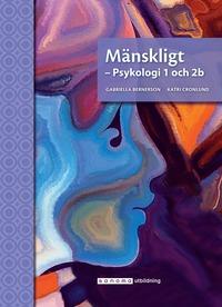 bokomslag Mänskligt - Psykologi 1 och 2b