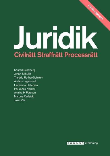 bokomslag Juridik - civilrätt, straffrätt, process 4:e uppl.