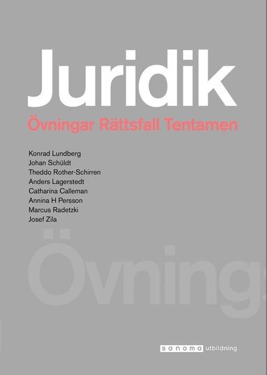 bokomslag Juridik - civilrätt, straffrätt, processrätt Övningsbok