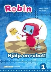 bokomslag Robin åk 1 Läsebok blå Hjälp, en robot!