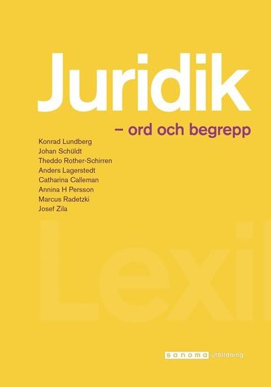 bokomslag Juridik - ord och begrepp
