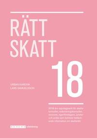 bokomslag Rätt Skatt 2018