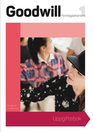 bokomslag Goodwill Företagsekonomi 1 Uppgiftsbok