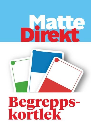 bokomslag Matte Direkt 8 Begreppskortlek Blå 5-pack