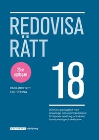 bokomslag Redovisa Rätt 2018