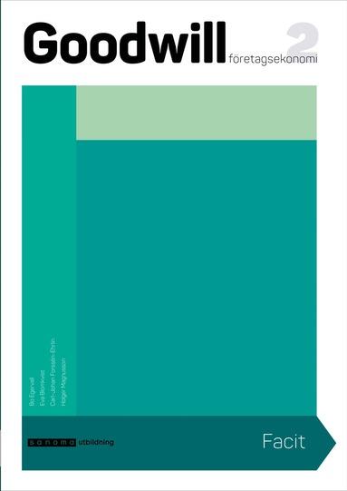 bokomslag Goodwill Företagsekonomi 2 Elevfacit upplaga 2