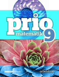 bokomslag Prio Matematik 9 Arbetsbok