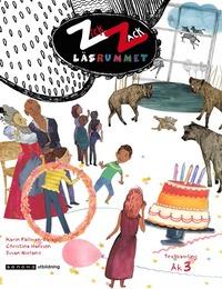 bokomslag ZickZack 3 Läsrummet Textsamling, upplaga 2