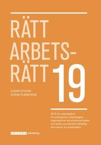 bokomslag Rätt Arbetsrätt 2019