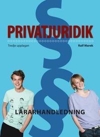 bokomslag Privatjuridik Lärarstöd