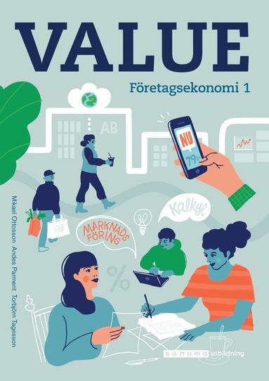 bokomslag Value Företagsekonomi 1 Faktabok