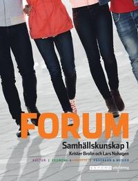 bokomslag Forum Samhällskunskap 1, upplaga 4