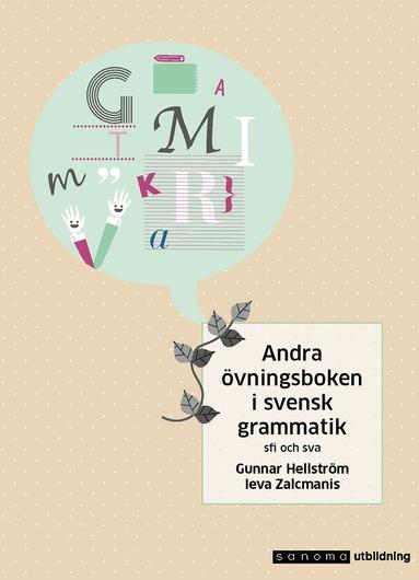 bokomslag Andra övningsboken i svensk grammatik