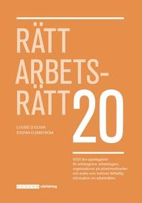 bokomslag Rätt Arbetsrätt 2020
