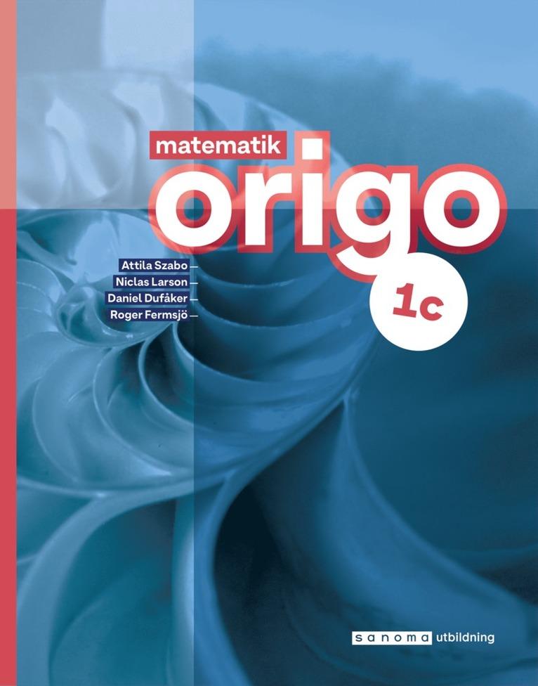 Matematik Origo 1c upplaga 3 1