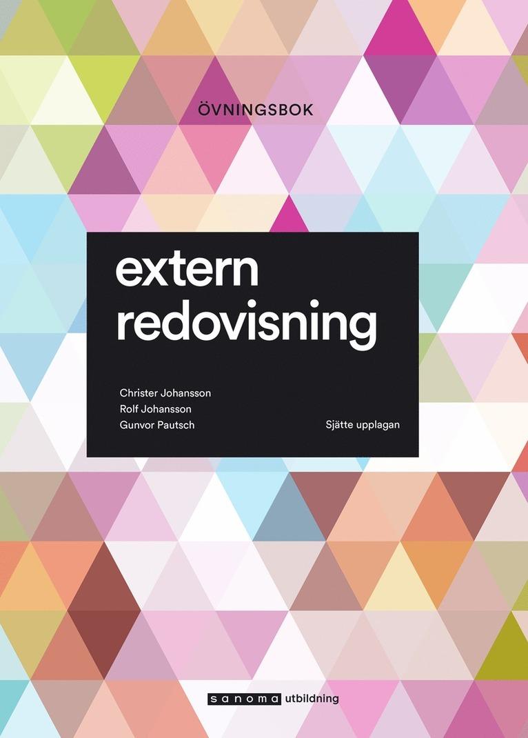 Extern redovisning : övningsbok 1