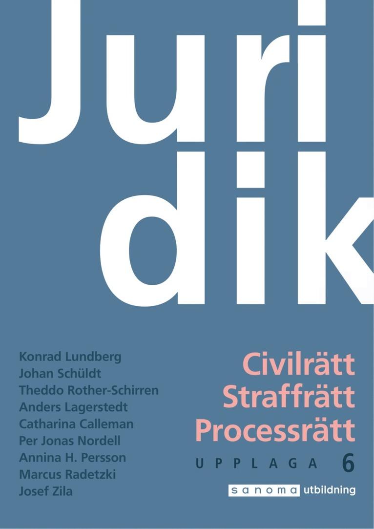 Juridik - civilrätt, straffrätt, processrätt upplaga 6 1
