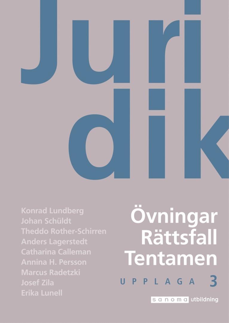 Juridik - civilrätt, straffrätt, processrätt Övn. upplaga 6 1