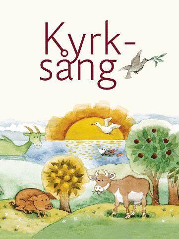bokomslag Kyrksång, sångbok