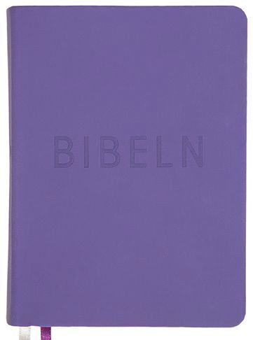 bokomslag Bibel konfirmand lila