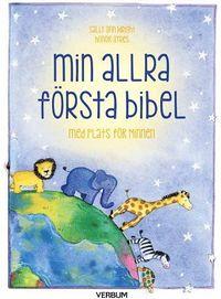 bokomslag Min allra första bibel : med plats för minnen