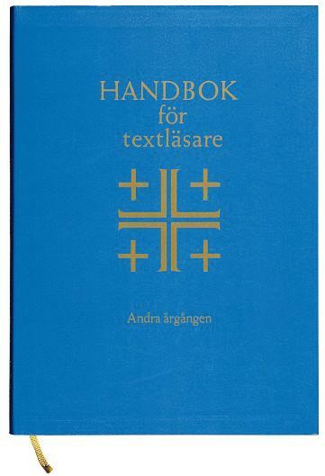 bokomslag Handbok för textläsare Årg. 2