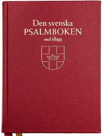 bokomslag Den svenska psalmboken med tillägg (bänkpsalmbok)