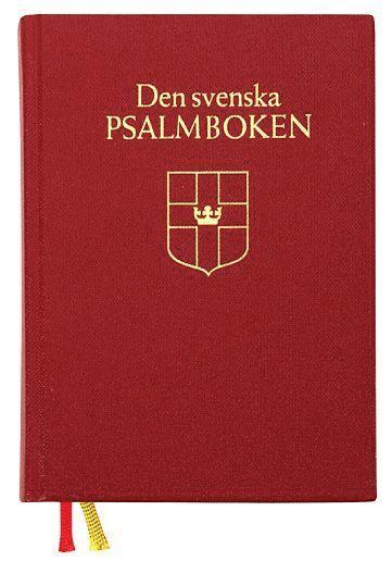 bokomslag Den svenska psalmboken (bänkpsalmbok - röd)