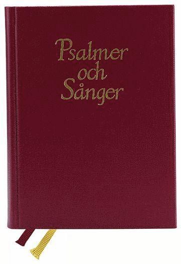 bokomslag Psalmer och sånger, melodipsalmbok