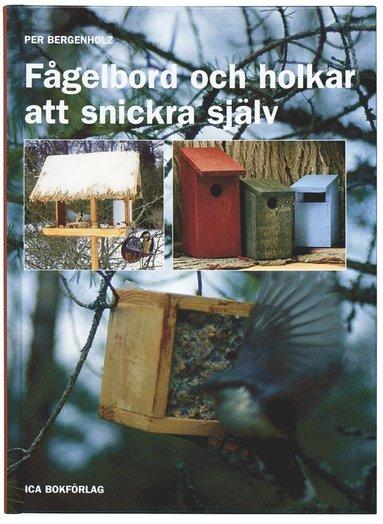 bokomslag Fågelbord och holkar att snickra själv
