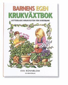 bokomslag Barnens egen krukväxtbok