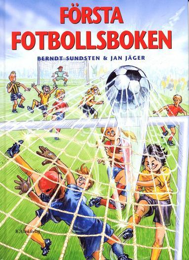 bokomslag Första fotbollsboken