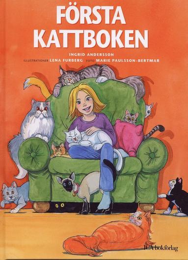 bokomslag Första kattboken