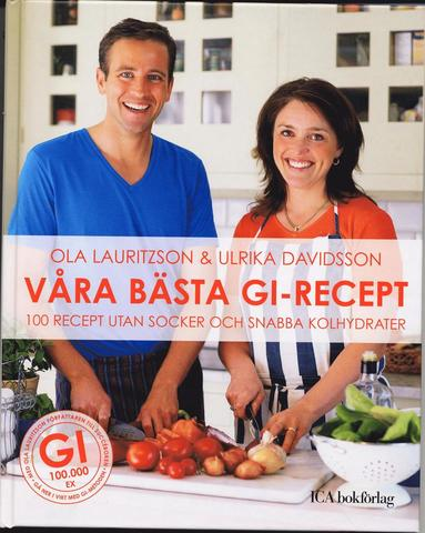bokomslag Våra bästa GI-recept : 100 recept utan socker och snabba kolydrater