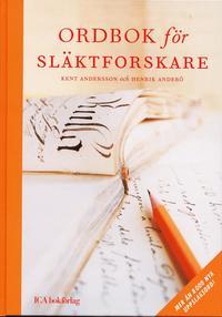 bokomslag Ordbok för släktforskare