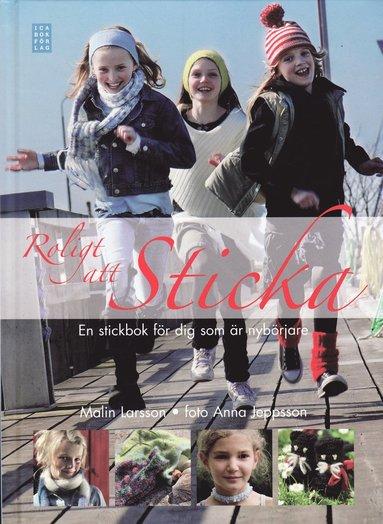 bokomslag Roligt att sticka : en stickbok för dig som är nybörjare