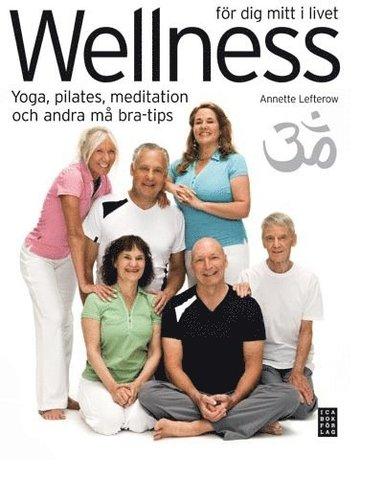 bokomslag Wellness för dig mitt i livet : yoga, pilates, meditation och andra må bra-tips