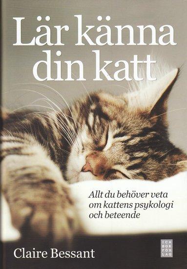 bokomslag Lär känna din katt : allt du behöver veta om kattens psykologi och beteende