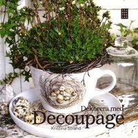 bokomslag Dekorera med decoupage