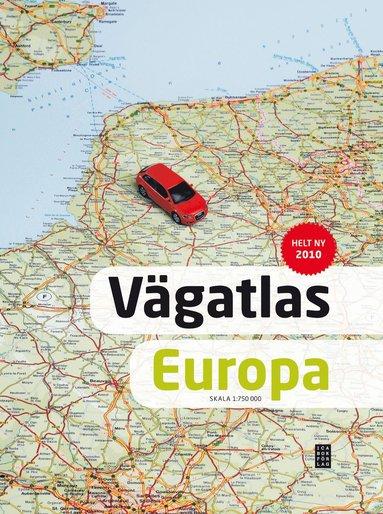 bokomslag Vägatlas över Europa