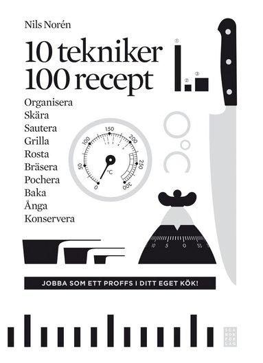 bokomslag 10 tekniker 100 recept