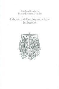 bokomslag Labour and Employment Law in Sweden