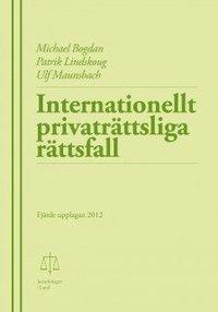 bokomslag Internationellt privaträttsliga rättsfall